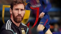 Leo Messi tiene en sus vitrinas mucho títulos, pero uno de los más repetidos es la Copa del Rey.