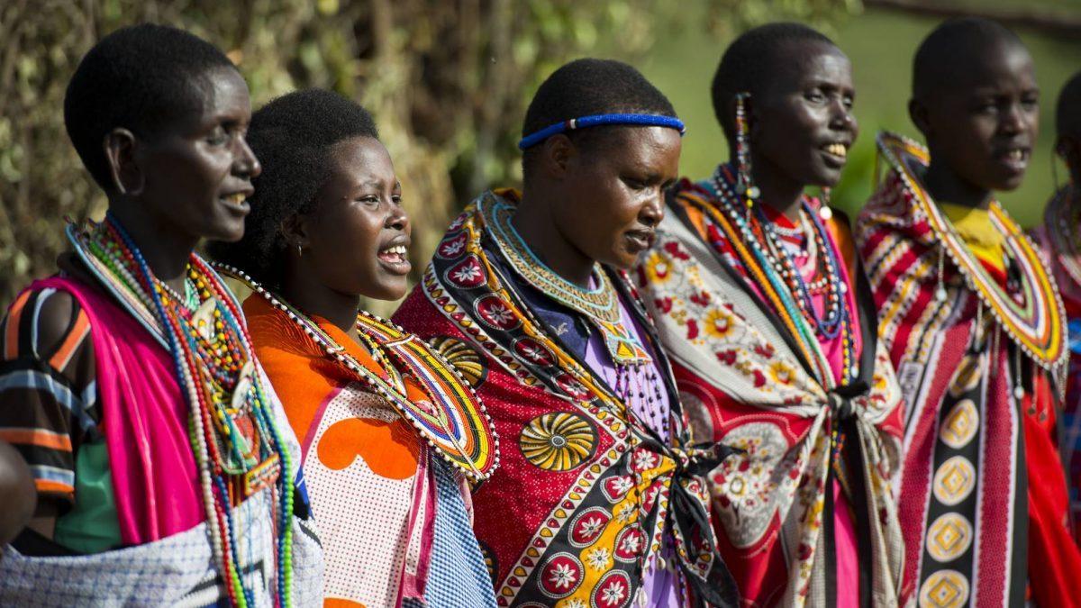 Mujeres de la Tribu Masai (Foto. Pinterest)