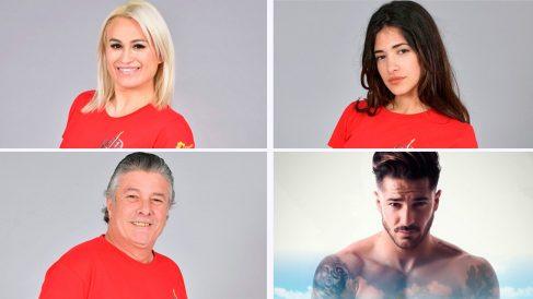 Nominados de Supervivientes 2018.