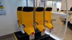 Unos asientos creados para la incomodidad