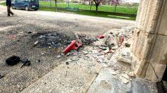 Lugar del accidente en el que perdió la vida la joven (Foto: Efe).