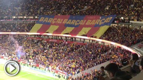 La afición del Barcelona mostró una división de opiniones por primera vez en mucho tiempo.