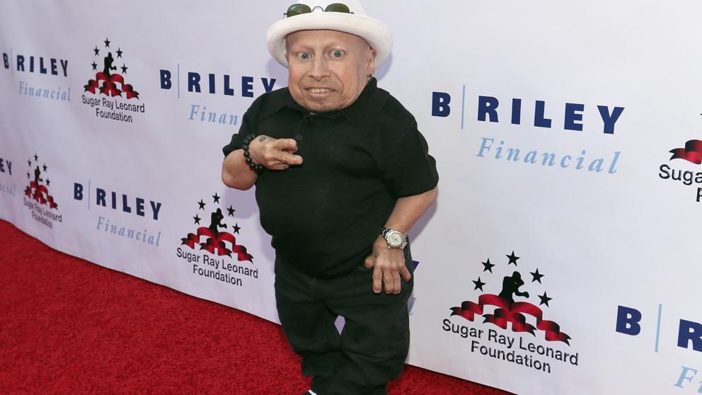 El actor Verne Troyer, famoso por su papel de Mini Yo (Foto: AFP)