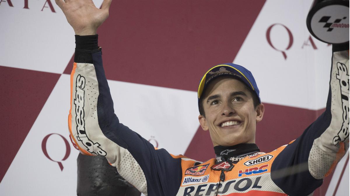 Marc Márquez consiguió su sexta victoria en Austin. (Getty)