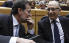 Mariano Rajoy y Cristóbal Montoro (Foto:EFE)