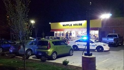 Restaurante de Tennessee donde se produjo el tiroteo.