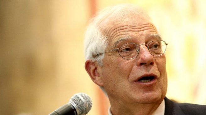 Josep Borrell Juan Guaidó