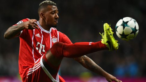 Boateng durante un partido con el Bayern de Múnich. (AFP)