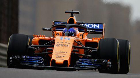 Fernando Alonso es el piloto de la parrilla de Fórmula 1 que más posiciones ha remontado durante las tres primeras carreras de la presente temporada. (Getty)