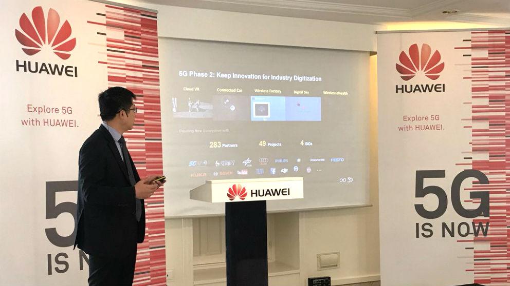 El consejero delegado de Huawei España, Tony Jin Yong.