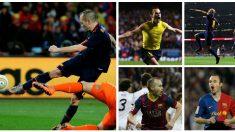 Los cinco goles inolvidables de Iniesta