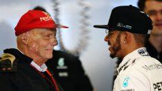 Niki Lauda ha asegurado que la renovación de Lewis Hamilton por Mercedes está a falta únicamente de formalizar la firma del contrato. (getty)