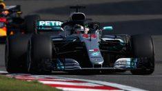 Lewis Hamilton ha reconocido que, a día de hoy, Mercedes es el segundo o tercer mejor equipo de la parrilla actual de la Fórmula 1. (Getty)