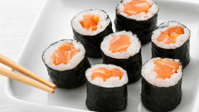 Makis de salmón