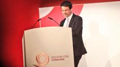 Manuel Valls recibe el premio de SCC (RRSS).