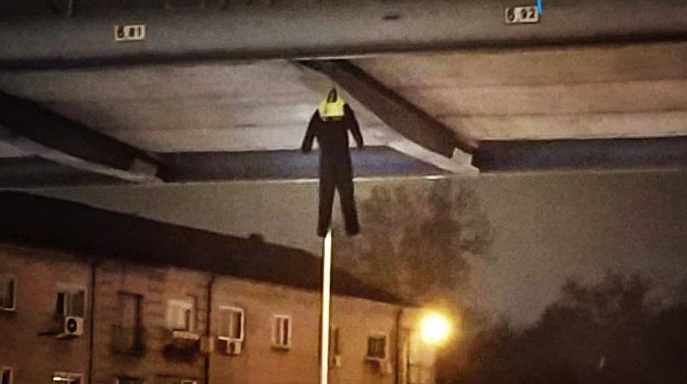 Portesta de los policías de Madrid. (Foto. TW)
