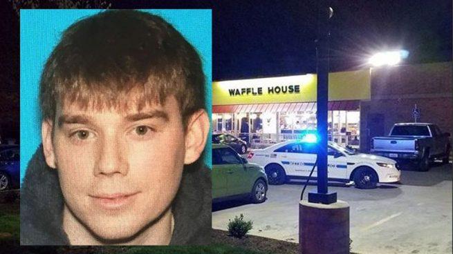 Detenido el asesino que mató a tiros a cuatro personas tras entrar desnudo en un restaurante de Tennessee