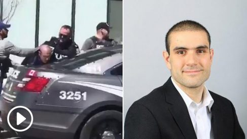 Alek Minassian, detenido por el atropello masivo en Toronto.