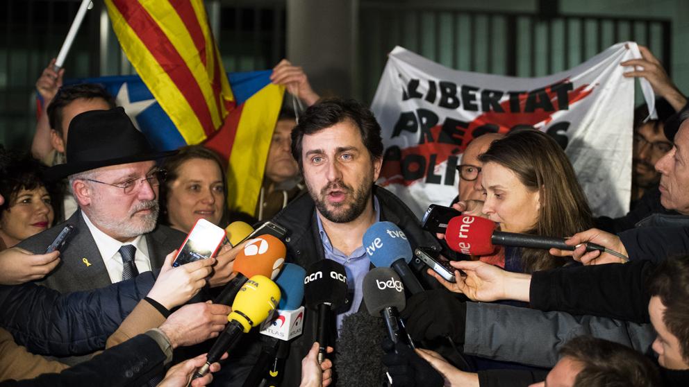 Antoni Comín, exconseller de Salud de la Generalitat de Cataluña. (Foto: AFP)
