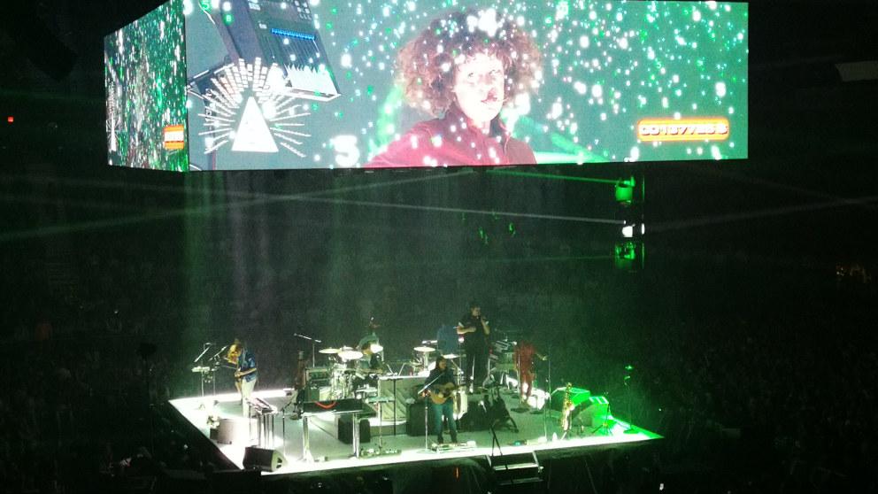 Arcade Fire en el WiZink Center de Madrid