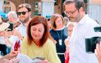 La presidenta de Baleares (PSOE) viste de amarillo en los actos oficiales en honor a los golpistas