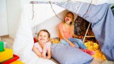 Ideas y pasos para saber hacer una fiesta de pijamas divertida.