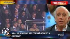 Cristiano Ronaldo está en el punto de mira del PSG.