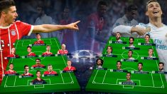 Bayern de Múnich y el Real Madrid se enfrentan en el Allianz Arena en la ida de las semifinales de la Champions.