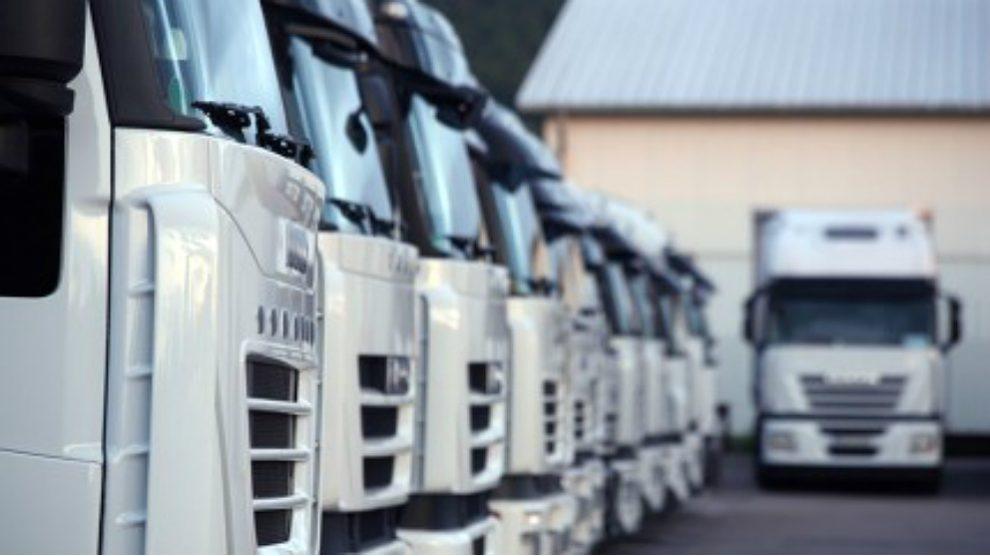 Flota de camiones.