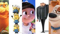 Algunos de los personajes más conocidos creados en el estudio Illumination McGuff, que estará en Animayo 2018