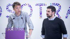 Íñigo Errejón y Ramón Espinar. (Foto: Podemos)