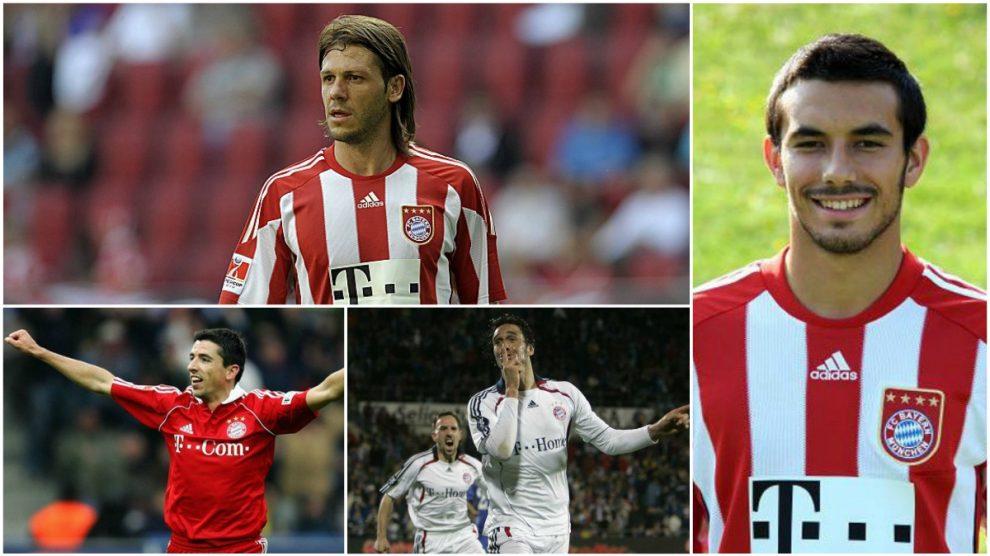 Algunos de los jugadores que igual no recuerdas que jugaron en el Bayern.