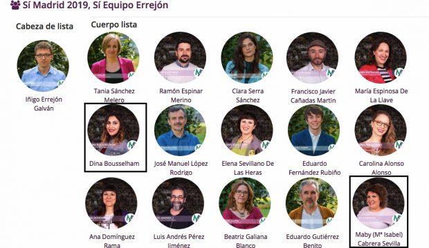 Miembros de la lista de Errejón integran el equipo técnico que arbitra las primarias