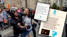 Listado de policías filtrado por los independentistas y que habrían intervenido el 1-O