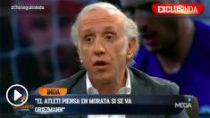 Eduardo Inda desveló que Morata podría regresar a Madrid más pronto que tarde.