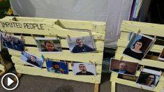 Murales separatistas que califican a Rodrigo Lanza de «preso político»