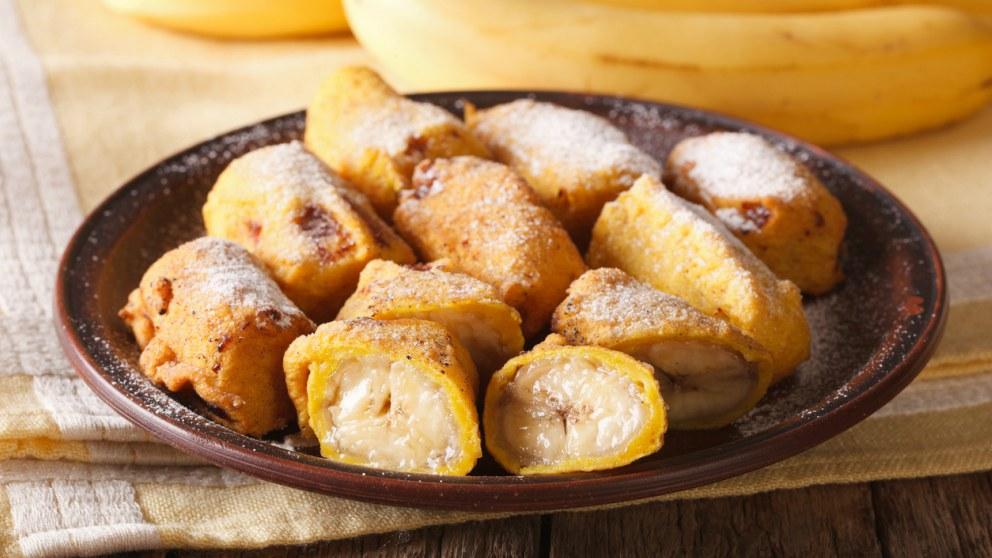 Receta de plátano frito