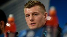 Toni Kroos, en la rueda de prensa previa al Bayern Munich – Real Madrid. (AFP)