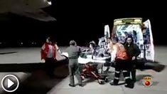 Operación de traslado de un recién nacido en estado crítico por el Ejército del Aire.