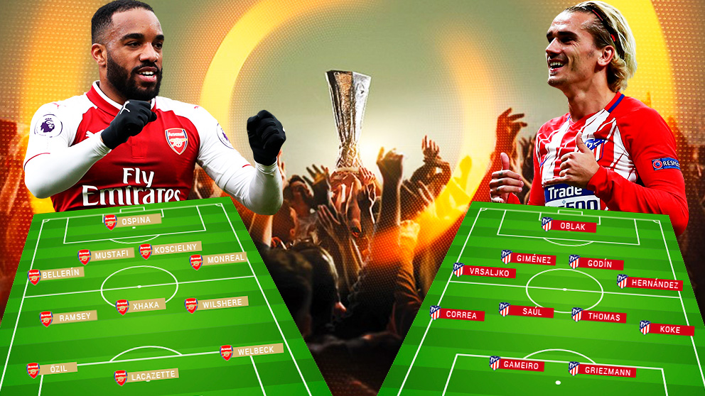 El Arsenal y el Atlético se enfrentan por una plaza en la final de Lyon.