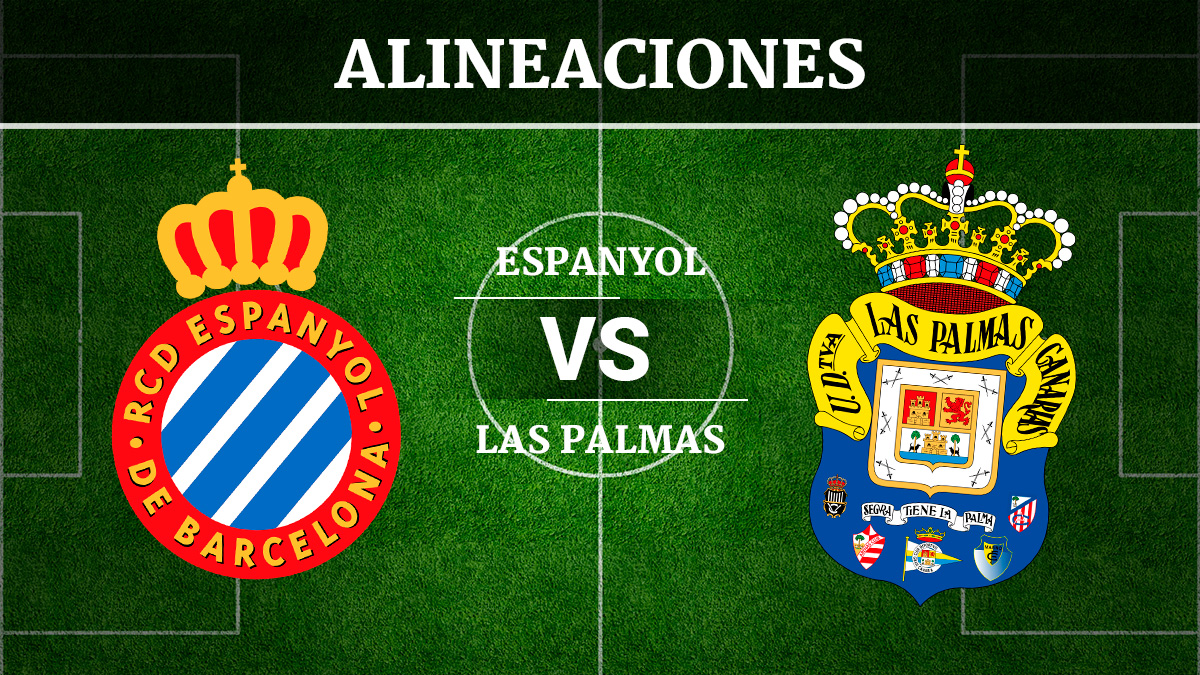 Consulta las posibles alineaciones del Espanyol vs Las Palmas.