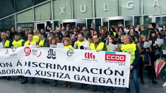 Justicia gallega en huelga