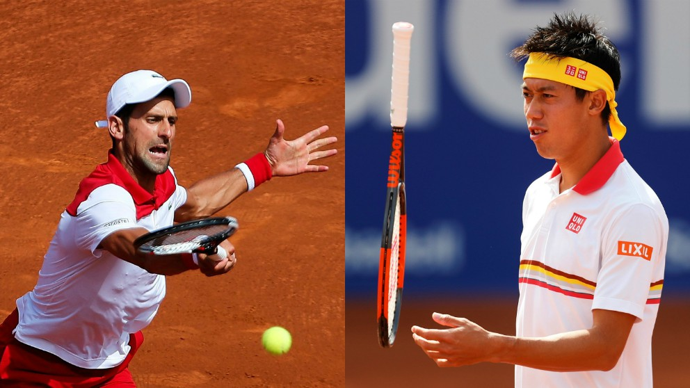 Djokovic y Nishikori, eliminados del Conde de Godó. (EFE)