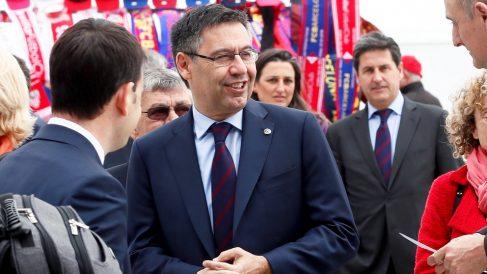 Josep Maria Bartomeu, presidente del FC Barcelona. (Foto: EFE)