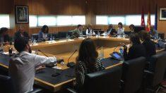 Junta de Portavoces de la Asamblea de Madrid. (Foto. Asamblea)