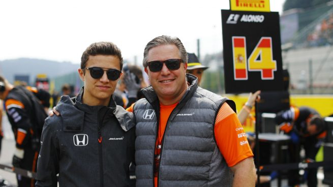 Lando Norris, la nueva promesa de McLaren, le ha quitado el puesto a Stoffel Vandoorne.