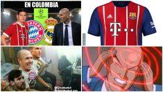 Los mejores memes del Bayern – Real Madrid. (memedeportes y Troll Football)