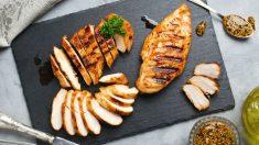 Receta de pollo marinado.