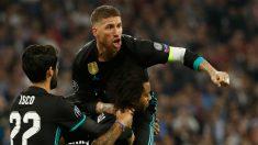 Sergio Ramos dio carácter al Real Madrid en Múnich. (AFP)