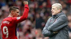 Fernando Torres y Arsène Wenger: sólo puede quedar uno.
